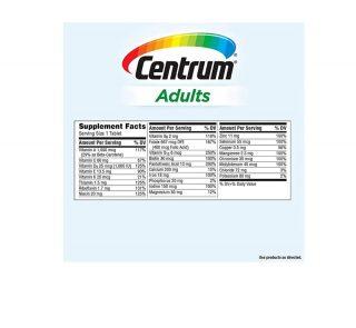 Centrum 425 Tablets back-min
